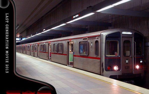 Metro Subway Scene