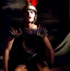 Boy Roman scene
