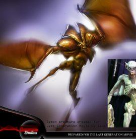 Last generations flying demon